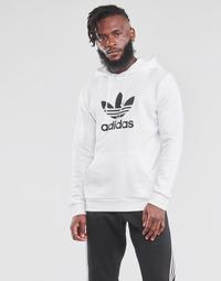 Textil Muži Mikiny adidas Originals TREFOIL HOODIE Bílá