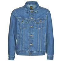 Textil Muži Riflové bundy Lee LEE RIDER JACKET Modrá