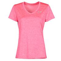 Textil Ženy Trička s krátkým rukávem Under Armour TECH SSV Růžová