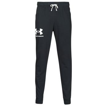 Textil Muži Teplákové kalhoty Under Armour UA RIVAL TERRY JOGGER Černá