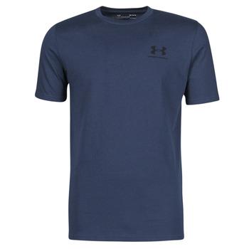 Textil Muži Trička s krátkým rukávem Under Armour UA SPORTSTYLE LC SS Modrá