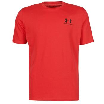 Textil Muži Trička s krátkým rukávem Under Armour UA SPORTSTYLE LC SS Červená