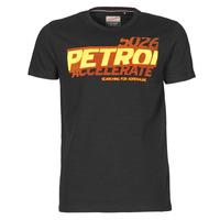 Textil Muži Trička s krátkým rukávem Petrol Industries T-SHIRT SS R-NECK F Černá