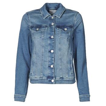 Textil Ženy Riflové bundy Esprit JOGGER JACKET Modrá