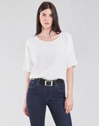 Textil Ženy Halenky / Blůzy Esprit COL V LUREX Bílá