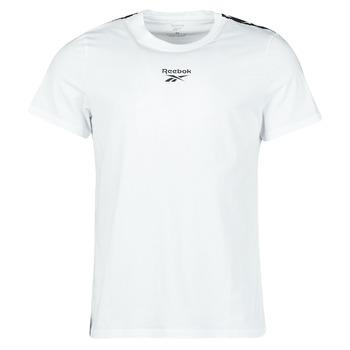 Textil Muži Trička s krátkým rukávem Reebok Classic TE TAPE TEE Bílá