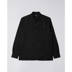 Textil Muži Košile s dlouhymi rukávy Edwin Chemise  Fannar noir