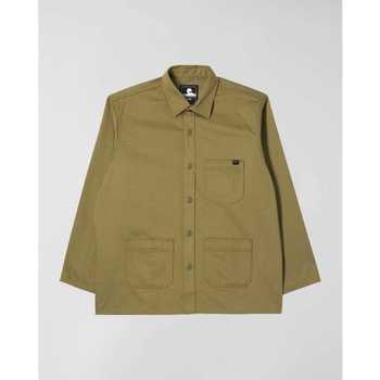 Textil Muži Košile s dlouhymi rukávy Edwin Chemise  Major olive