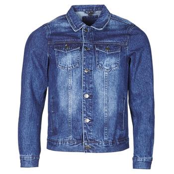 Textil Muži Riflové bundy Yurban OPSI Modrá