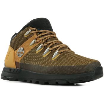 Boty Muži Pohorky Timberland Sprint Trekker WP Mid Boot Hnědá