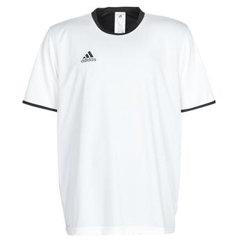 Textil Muži Trička s krátkým rukávem adidas Performance TAN REV JSY Bílá