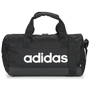 Taška Sportovní tašky adidas Performance LIN DUFFLE XS Černá
