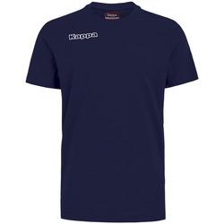 Textil Chlapecké Trička & Pola Kappa T-shirt enfant  Tee bleu royal