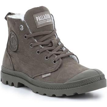 Boty Ženy Kotníkové boty Palladium Manufacture Pampa HI Zip WL 95982-213-M brown