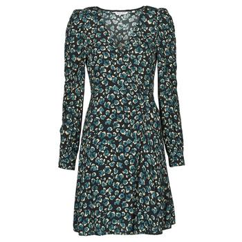 Textil Ženy Krátké šaty Naf Naf LEO R1 Černá / Zelená