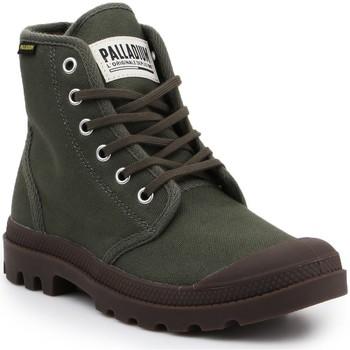 Boty Kotníkové boty Palladium Pampa HI Originale 75349-326-M olive green