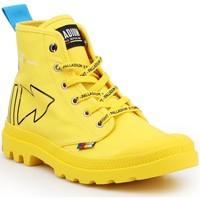 Boty Kotníkové boty Palladium Pampa Dare REW FWD 76862-709-M yellow