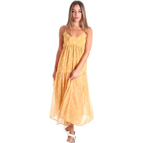Textil Ženy Společenské šaty Fracomina FR20SMLINDA Žlutá