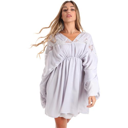 Textil Ženy Krátké šaty Fracomina FR20SMBARBARA Modrý