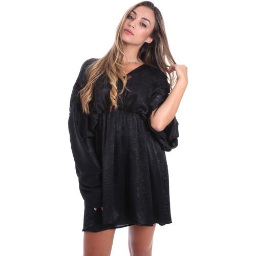Textil Ženy Krátké šaty Fracomina FR20SMBARBARA Černá