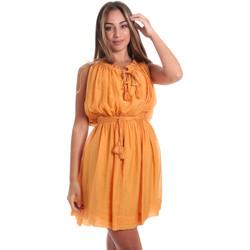 Textil Ženy Krátké šaty Fracomina FR20SMANA Žlutá