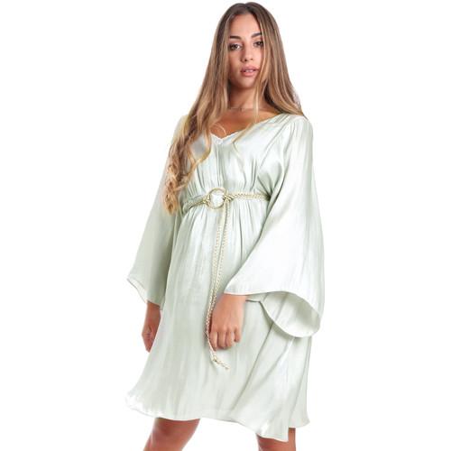 Textil Ženy Krátké šaty Fracomina FR20SMELISABETH Zelený