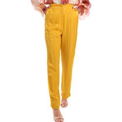 Textil Ženy Kalhoty Fracomina FR20SM649 Žlutá