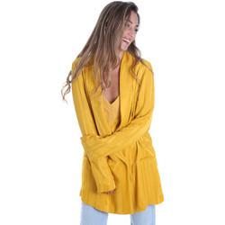 Textil Ženy Saka / Blejzry Fracomina FR20SM648 Žlutá