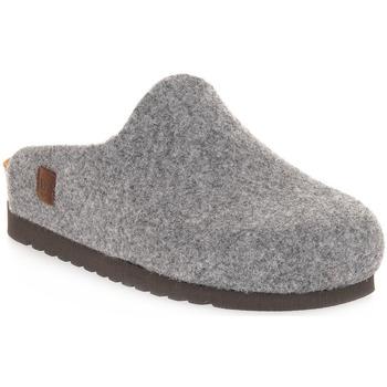 Boty Pantofle Bioline 3048 MERINOS GRIGIO Grigio