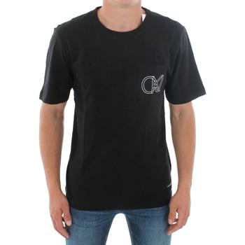Textil Muži Trička s krátkým rukávem Calvin Klein Jeans J30J309612 099 BLACK Negro