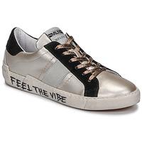 Boty Ženy Nízké tenisky Meline NK1382 Bronzová / Černá