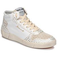 Boty Ženy Kotníkové tenisky Meline NK1409 Bílá