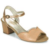 Boty Ženy Sandály Sweet GOLFE Zlatá