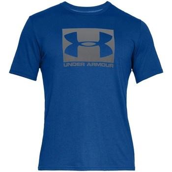 Textil Muži Trička s krátkým rukávem Under Armour Boxed Sportstyle Modré
