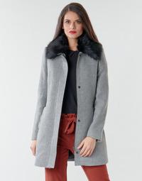 Textil Ženy Kabáty Naf Naf AROUSSA Šedá