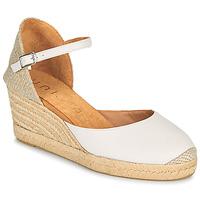 Boty Ženy Sandály Unisa CACERES Bílá