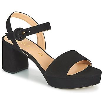 Boty Ženy Sandály Unisa NENES Černá