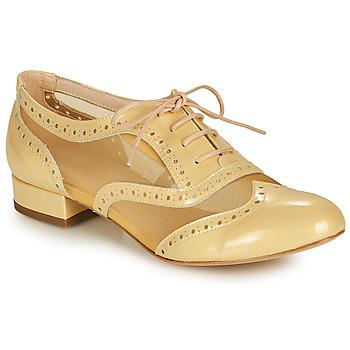 Boty Ženy Šněrovací společenská obuv Fericelli ABIAJE Žlutá