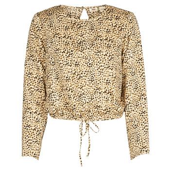 Textil Ženy Košile / Halenky Levi's AMMOLITE SHIFTING SAND Béžová
