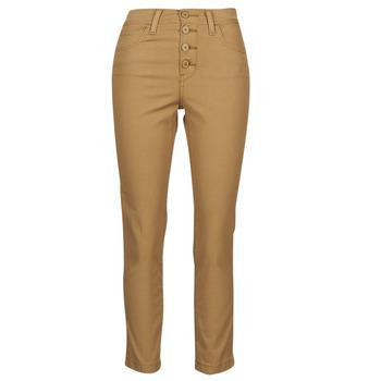 Textil Ženy Kapsáčové kalhoty Levi's SOFT CANVAS TOASTED COCONUT OD Béžová