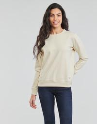 Textil Ženy Mikiny Lee SUSTAINABLE SWS ECRU MELE Bílá