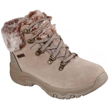 Boty Ženy Zimní boty Skechers waterproof 167178 Bílá