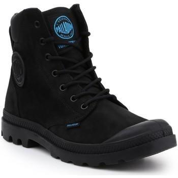 Boty Muži Kotníkové boty Palladium Pampa Cuff WP LUX 73231-001-M black