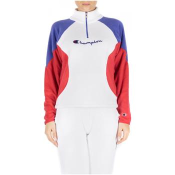 Textil Ženy Mikiny Champion HIGH NECK TOP ww001-wht-ryr-scbl