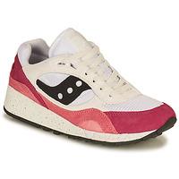 Boty Ženy Nízké tenisky Saucony SHADOW 6000 Bílá / Růžová