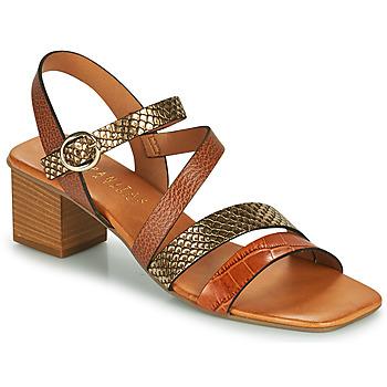 Boty Ženy Sandály Hispanitas OLGA Hnědá / Bronzová