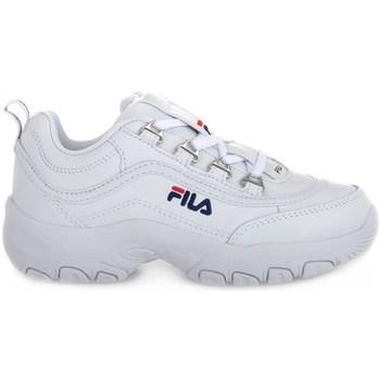Boty Děti Nízké tenisky Fila Strada Low Junior Bílé