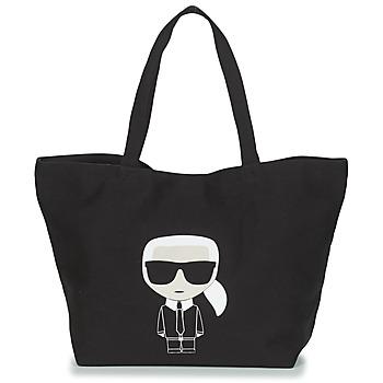 Taška Ženy Velké kabelky / Nákupní tašky Karl Lagerfeld K/IKONIK KARL TOTE Černá