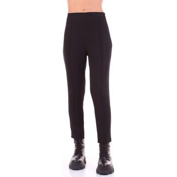 Textil Ženy Oblekové kalhoty Sandro Ferrone C18-DONATO Černá