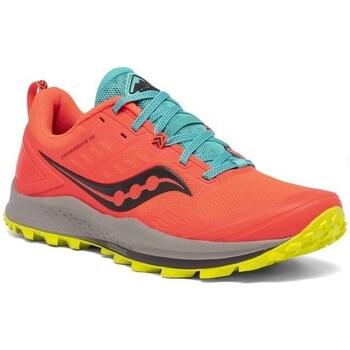Boty Ženy Běžecké / Krosové boty Saucony Peregrine 10 Červené, Modré